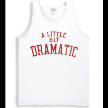 Mean Girls A Little Bit Dramatic Womens Tank Top Shirt Regina George Costume New