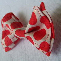 Cherry Spotted Bow Tie, Doctor Who Baby, Bow Tie, Bow Ties Toddler, Newborn Bow Tie, Doctor Who, Bowtie, Boys Bow Tie,