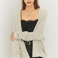 BDG Fluffy Ivory Cardigan - Urban Outfitters
