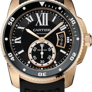Cartier Calibre de Cartier Automatic Diver Gold W7100052