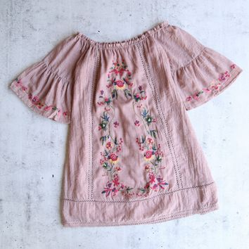 off the shoulder victorian mini dress