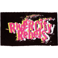 River City Rebels Men's Cloth Patch Black