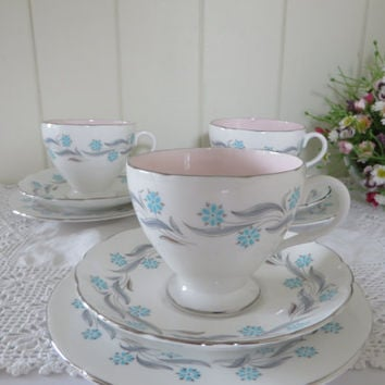 Foley vintage 1950's Tea trio called prelude