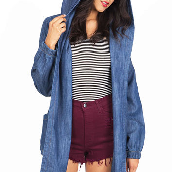Day Trip Chambray Jacket
