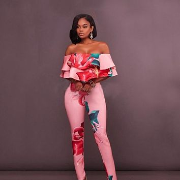 bambooboy Floral Jumpsuit