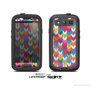 The Color Knitted Skin For The Samsung Galaxy S3 LifeProof Case