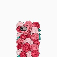 silicone roses iphone 7