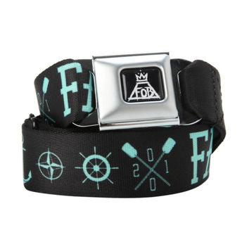 Fall Out Boy Anchor Seat Belt Belt