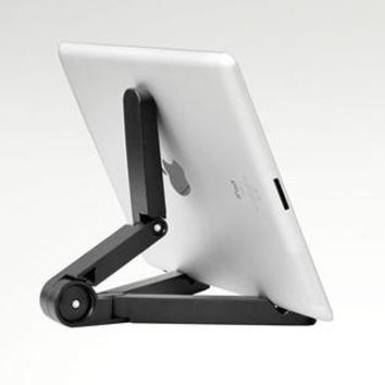 Portable Fold-Up Stand for Apple iPad 2 3 4 Air Air2 Mini, Galaxy Tab, all Tablets.