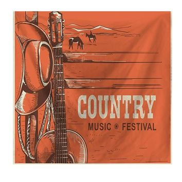 Country Music Festival Tapestry