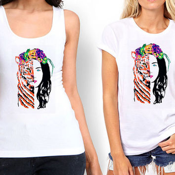 Katy Perry - ROAR Eye Of The Tiger Tank top , Tshirt ,T shirt For Women