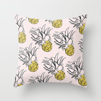 In Bloom Throw Pillow by Sara Combs