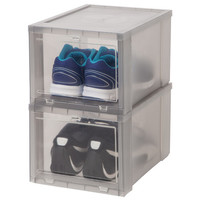 IRIS Drop Front Shoe Box (Set of 6)