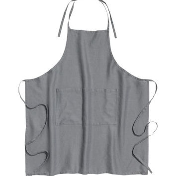 Washed Linen Apron - from H&M