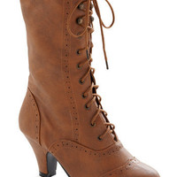 Seeking Treasures Boot | Mod Retro Vintage Heels | ModCloth.com