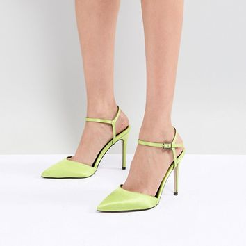 ASOS DESIGN Pascala Pointed Heels at asos.com