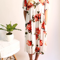 Meadow Walker Floral Dress