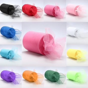 "6""x300' Tulle Roll Spool Tutu Wedding Craft Gift Wrap Party Decoration 6""x100yd = 1932740356"