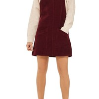 Topshop Corduroy Pinafore Dress | Nordstrom