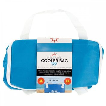Just Chillin' Insulated Cooler Tote Bag OS312