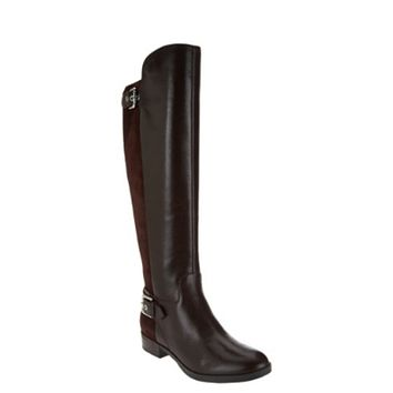 """As is"" Marc Fisher Damsel Women's Medium Calf Dark Brown Tall Shaft Boots"