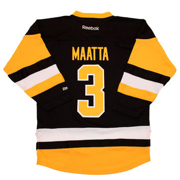 Olli Maatta Pittsburgh Penguins Reebok Child Replica (4-6X) Alternate NHL Hockey Jersey (copy)