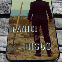 panic at the disco for iPhone 4/4s/5/5S/5C/6, Samsung S3/S4/S5 Unique Case *95*