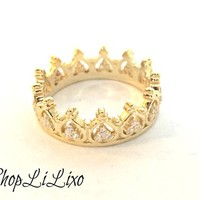 All Around Crown Ring from ShopLiLixo