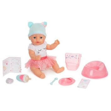 Baby Born Interactive Sleeping,Moving,Crying, Wetting,Eating and Drinking Baby Doll
