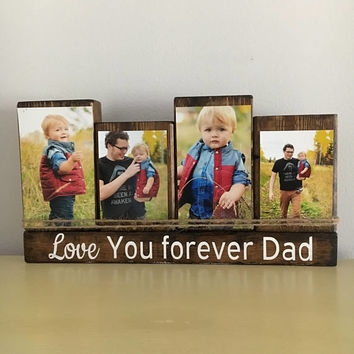 First Father's Day gift, Dad gift, Love you forever, Gifts for Dad, father's day gift from son, father's day gift from daughter, gift ideas