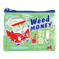 Blue Q - Weed Money Coin Purse