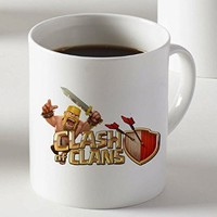 Clash of Clans Video Game Mug Two Sides