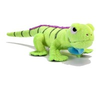 goDog Amphibianz Iguana Plush XL Dog Toy