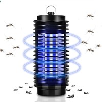 110V 220V EU US Plug Electronics Mosquito Killer Lamp Insect Pest Bug Zapper
