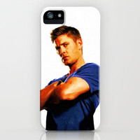 Dean Winchester / Supernatural - Painting Style iPhone & iPod Case by ElvisTR