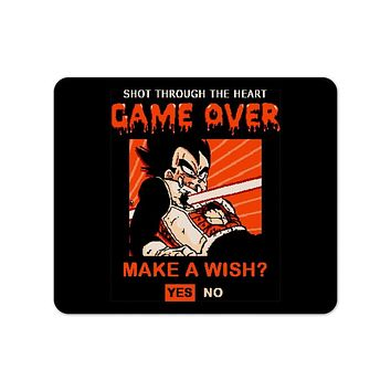 Game Over Vegeta Mouse Pad