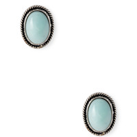 Vintage-Inspired Faux Stone Studs