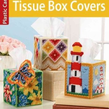 Tissue Box Covers: Plastic Canvas