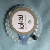 Lokai Unisex Silcone Bracelet in Medium