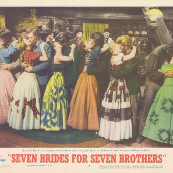 Seven Brides for Seven Brothers 11x14 Movie Poster (1954)