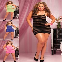 Cute On Sale Hot Deal Plus Size Sexy Exotic Lingerie [6595849091]