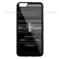 Best Ford Mustang Car Automotive iPhone 6 6s 6+ 6s+ 7 7+ 8 8+ Hard Plastic Case