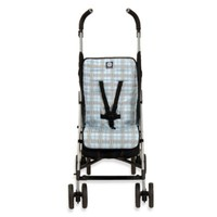 Balboa Baby® Stoller Liner in Blue Plaid
