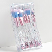 Lime Crime Aquarium Liquid Glitter Makeup Brush Set | Urban Outfitters