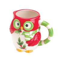 HOLIDAY HOOT COFFEE MUG