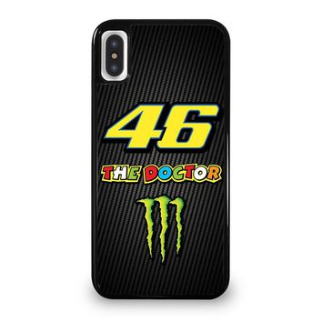 VALE 46 THE DOCTOR VALENTINO ROSSI iPhone 5/5S/SE 5C 6/6S 7 8 Plus X/XS Max XR Case Cover