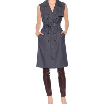 Jene sleeveless coat