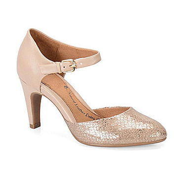 Sofft Palesa Pumps - Blush/Soft Gold