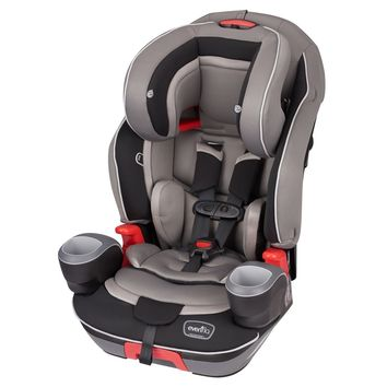Evenflo Platinum Evolve 3-in-1 Combination Booster Car Seat, Theo