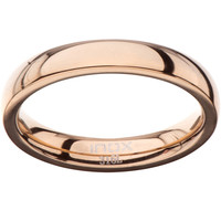 Inox 316L Women's 3mm Rose Gold Wedding Band